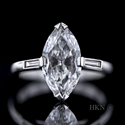 Marquise Cut Diamond 03