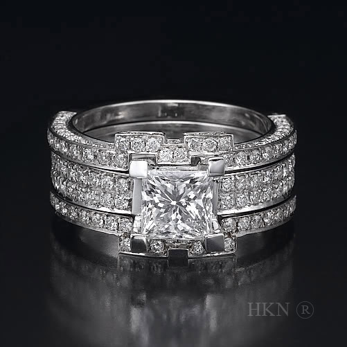 Princess Cut Diamond 02