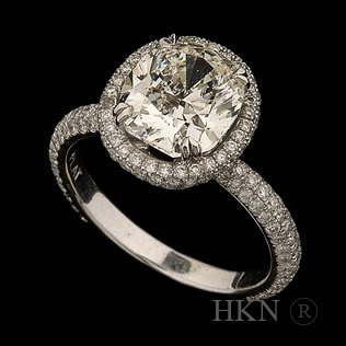 Round Cut Diamond 02